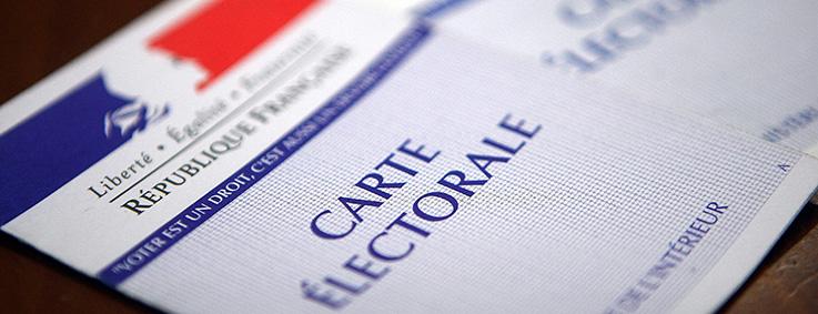 carte électorale, élections, inscription, liste électorale, voter