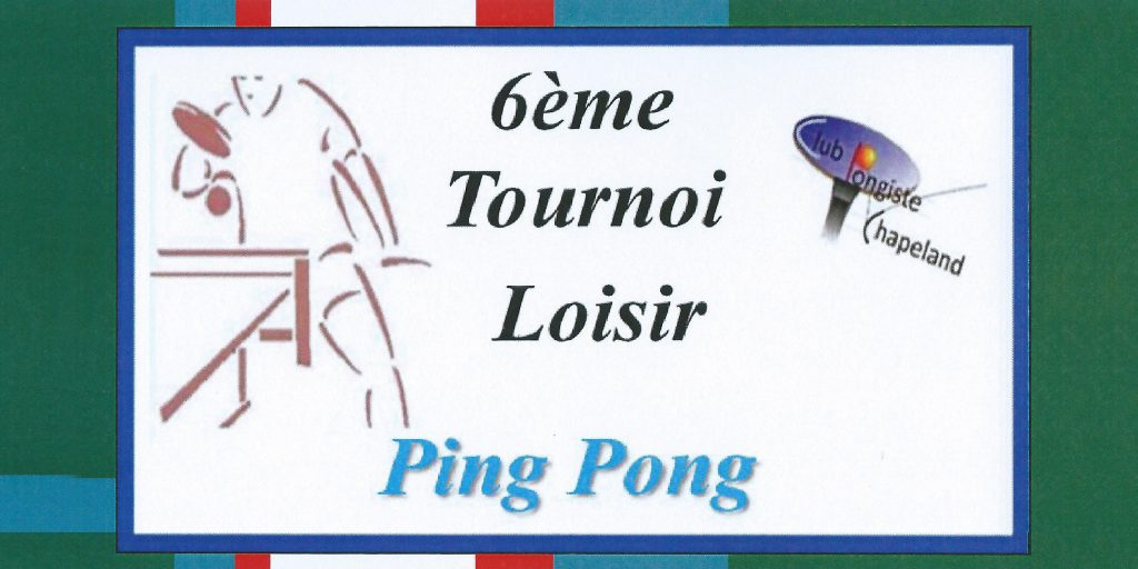 Tournoi open 4 juin 16