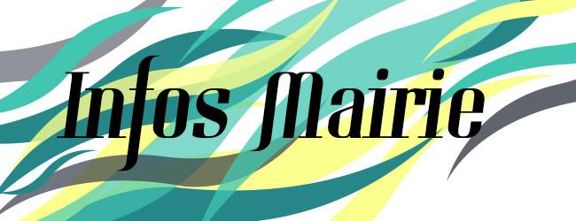 Banniére Infos Mairie