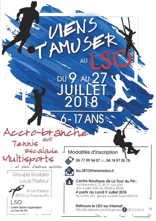 LSO, multisports, jeune, sport, centre de loisirs, inscription, coordonnées