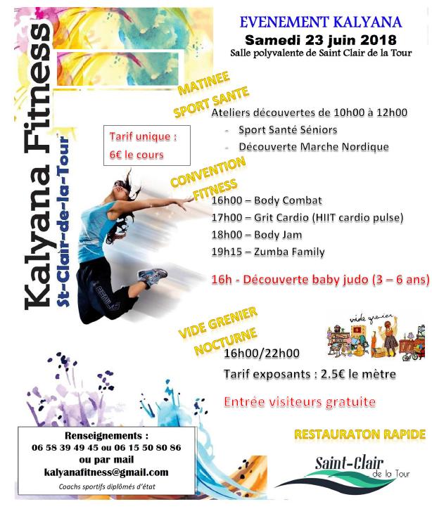 évènement, Kalyana, fitness, ateliers, découverte