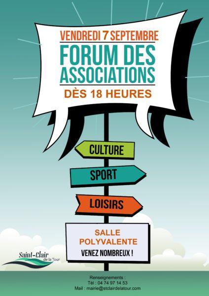 forum, associations, culture, sport, loisirs