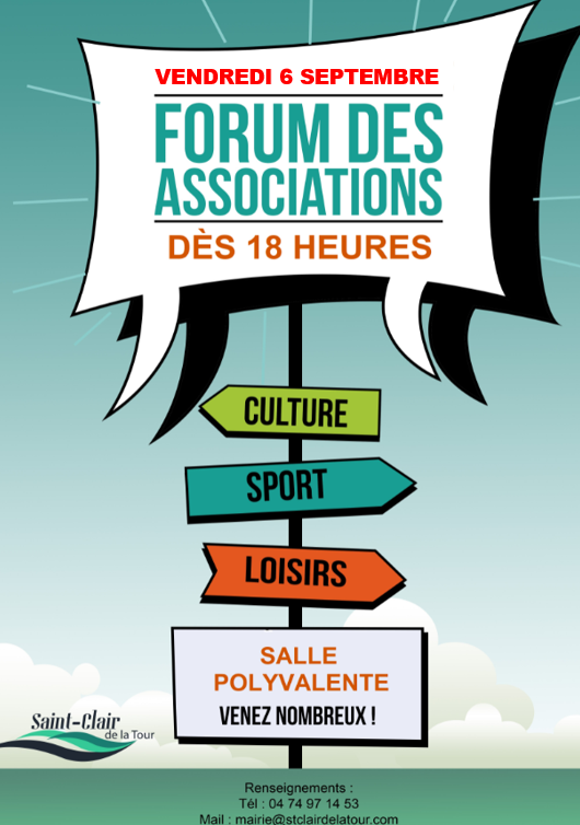 forum, associations, association, culture, sport, loisirs