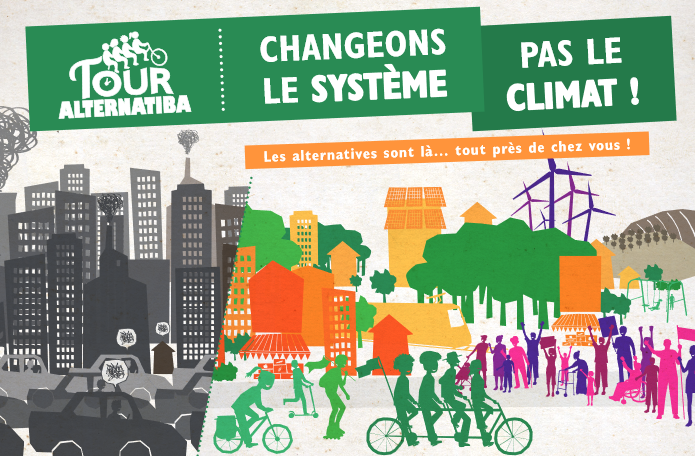 SICTOM, tour alternatiba, climat, alternatives