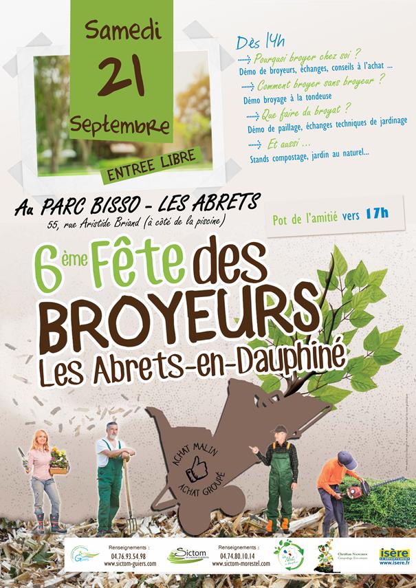 broyeurs, fête des broyeurs, broyer, paillage, stand compostage, espace collaboratif, sictom