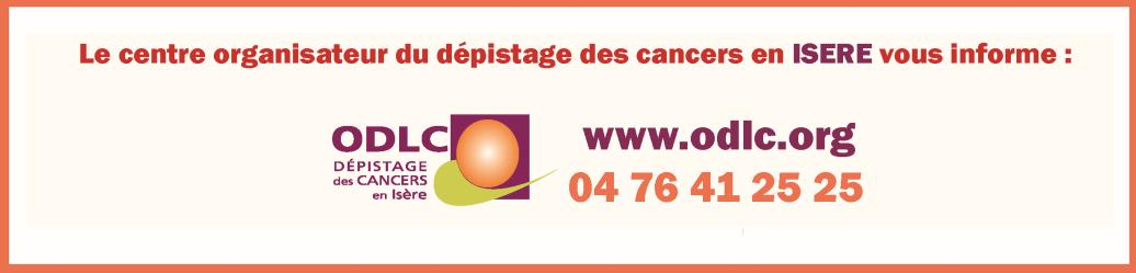 dépistage, cancer, centre, ODLC, coordonnées