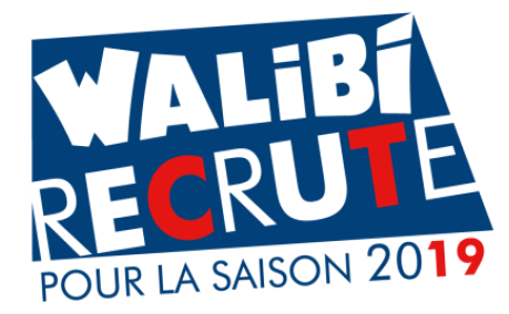 walibi, recrute, 2019