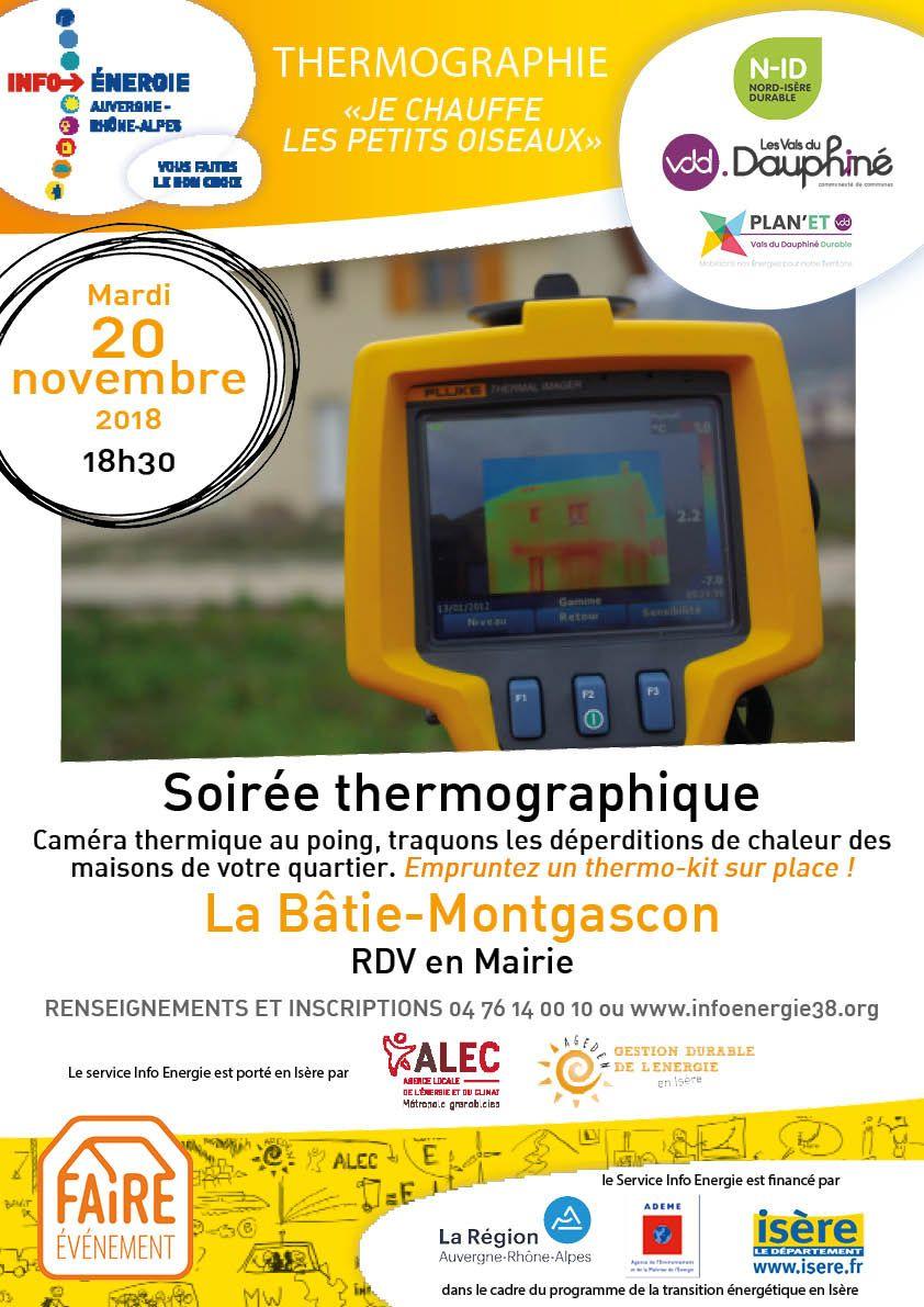 énergie, thermographie, plan'et, soirée thermographique, déperditions de chaleur