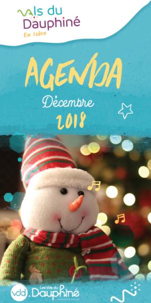 VDD, agenda, décembre, 2018