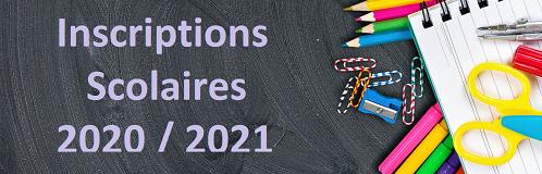 inscription, scolaire, inscriptions scolaires, 2020/2021, écoles, école, maternelle, élémentaire