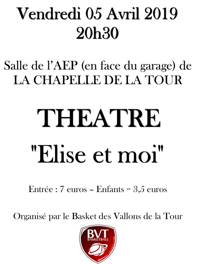BVT, théâtre, basket des vallons de la tour