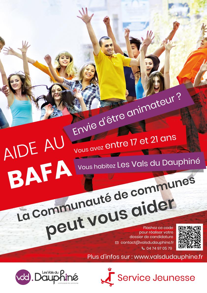 aide, BAFA, animateur, Les Vals du Dauphiné, inscription, candidature