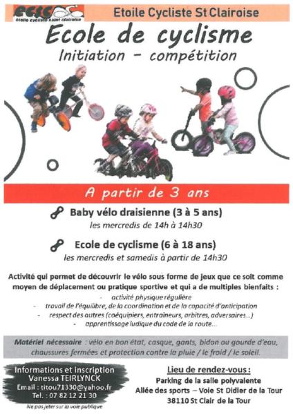 ECSC, école, cyclisme, enfant, initiation, compétition, vélo, draisienne,