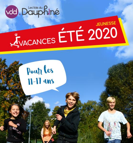 VDD, Les Vals du Dauphiné, été 2020, jeunesse, vacances, 11-17 ans