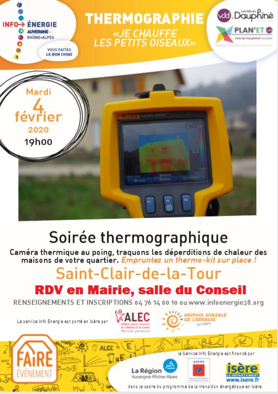 thermographique, soirée, énergie, information, thermo-kit