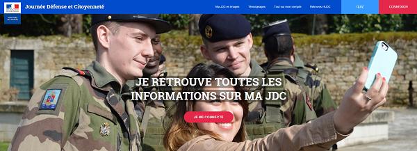 majdc.fr, journée défense et citoyenneté, recensement militaire, jeunes