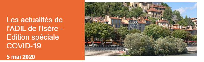 ADIL, agence départementales, information, logement, actualités, édition spéciale COVID