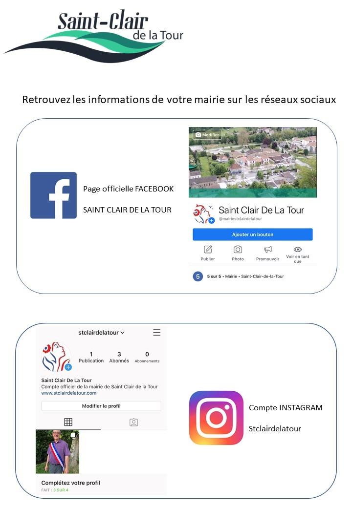 informations, réseaux sociaux, facebook, instagram