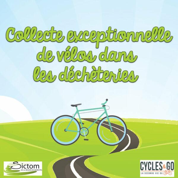 vélos, déchèterie, collecte