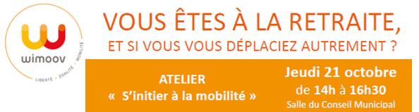 """Atelier sénior : """"S'initier à la mobilité"""""""